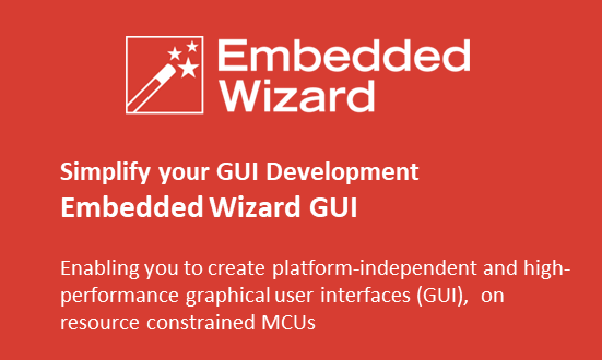 Embedded Wizard GUI